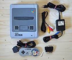 SNES Super Nintendo Konsole mit Original Controller (sehr guter Zustand)