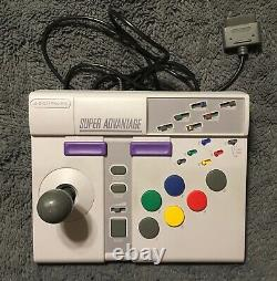 SNES Super Nintendo Super Advantage Controller in Box