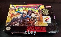 SUNSET RIDERS COMPLETE 1993 Super Nintendo SNES CIB FAST FREE SHIPPING