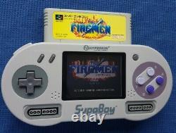 SUPABOY Portable SNES NTSC VERSION Plays Super Nintendo Cartridges