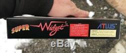 SUPER WIDGET SNES NINTENDO PAL FR FAH & Shipbox en France N-MINT NEW Deadstock