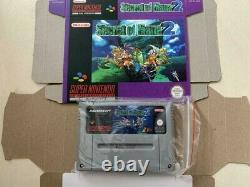 Secret of Mana 2 mit OVP Super Nintendo SNES Repro Spiel NEU Deutsch