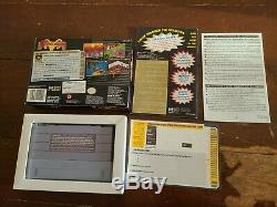 Shadowrun CIB Super Nintendo SNES Box Manual Cyberpunk RPG Rare! GREAT CONDITION