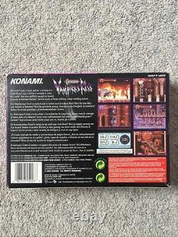 Snes Castlevania Vampires Kiss Very Rare Super Nintendo