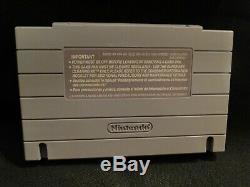 Snes MegaMan X Super Nintendo CIB Complete Authentic Cart, manual, Dust, Custom Box