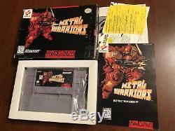 Snes Super Nintendo Metal Warriors Cib
