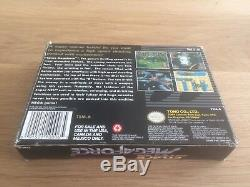 Space Mega Force Super Nintendo SNES Complete CIB Boxed Game Rare MegaForce