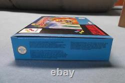 Sparkster Super Nintendo x 6 Snes sealed NEU UKG VGA WATA no NES Pokemon Mario