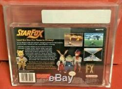 Star Fox Super Nintendo SNES Brand New Factory Seal H-Seam VGA Grade 80 Silver