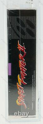 Street Fighter II 2 Super Nintendo SNES NEW SEALED GRADED VGA 85+ GRAIL RAR