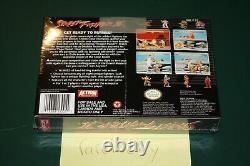 Street Fighter II (Super Nintendo SNES) NEW SEALED V-SEAM 1ST RUN, CASE FRESH