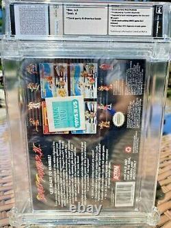 Street Fighter II Super Nintendo SNES WATA Grade 6.5 Sealed A HADOUKEN