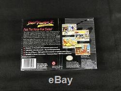 Street Fighter II Turbo (Super Nintendo, 1993) Brand New Factory Sealed SNES