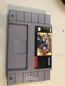 Sunset Riders (Super Nintendo, 1993) SNES Authentic USA Tested & Working