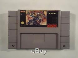 Sunset Riders (Super Nintendo, 1993) SUNSETRIDERS SNES Rare authentic game