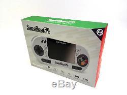 SupaBoy SFC Konsole/ portable Super Nintendo wie Classic Mini SNES +Zubehoer+NEU