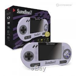 Supa Boy S Portable Pocket SNES Super Nintendo Retro Game Console by Hyperkin