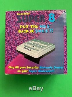 Super 8 Snes Super Nintendo NES 8 Bit Adapter Innovation