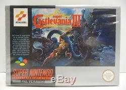 Super Castlevania IV Super Nintendo Snes Pal Boxed Rare