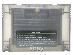 Super Everdrive DSP V2 SNES Super Nintendo SFC Famicom Flash Cart 16 GB SD BLACK