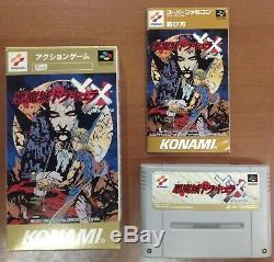 Super Famicom Castlevania Akumajo Dracula XX Complete Japan SFC SNES