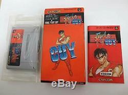 Super Famicom Final Fight Guy Complete Japan SFC SNES