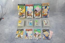 Super Famicom SFC Dragon Ball Z Butouden 1 2 3 Hyper boxed dimension US Seller