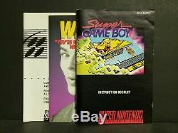 Super GameBoy (Super Nintendo Entertainment System, 1994) SNES Complete Big Box