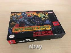 Super Ghouls'n Ghosts Complete SNES Super Nintendo CIB Game