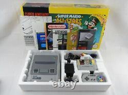 Super Mario All Stars SNES Super Nintendo Console Boxed Complete