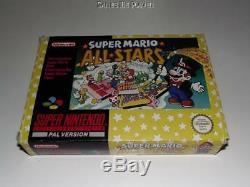 Super Mario All Stars Super Nintendo SNES Boxed PAL Complete 2