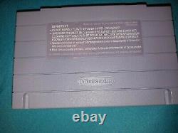 Super Mario Kart SNES Super Nintendo Authentic Complete In Box