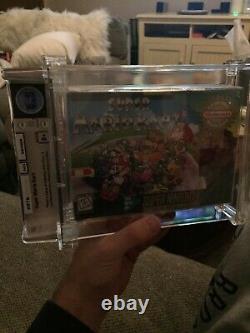 Super Mario Kart (SNES) WATA Certified Grade Brand Newithsealed Super Nintendo