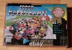 Super Mario Kart (Super Nintendo, 1992) SNES Brand New Sealed