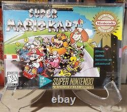 Super Mario Kart (Super Nintendo, 1992) SNES Brand New Sealed! Don't Miss Out