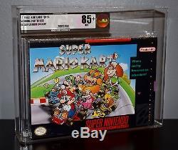 Super Mario Kart Vga 85+ Super Nintendo Snes Sealed Brand New