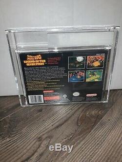 Super Mario RPG Legend of Seven Stars VGA 85 Super Nintendo Factory Sealed SNES