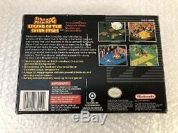 Super Mario RPG Legend of the Seven Stars (Super Nintendo SNES) Complete. CIB