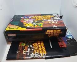Super Mario Rpg Snes Game Complete In Box Cib Good Condition All Inserts