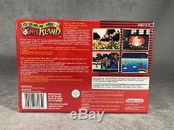 Super Mario World 2 Yoshi´s Island SNES NEUF DUSINE Super Nintendo SCELLÉ