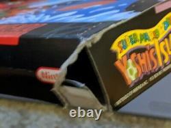 Super Mario World 2 Yoshi's Island SNES (Super Nintendo, 1995) CIB Complete