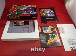 Super Mario World 2 Yoshi's Island (Super Nintendo SNES 1995) COMPLETE with Box Y