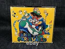 Super Mario World CD Soundtrack Super Nintendo SNES Japan USED