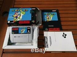 Super Mario World NOE mint condition CIB PAL OVP Snes Super Nintendo