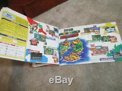 Super Mario World (Super Nintendo SNES) Complete CIB with Magazine Collector