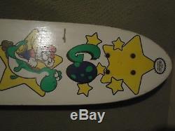 Super Mario World Super Nintendo SNES Go Yoshi 1994 Skateboard RARE Promo