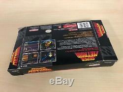 Super Metroid Complete Super Nintendo CIB Game Original SNES NTSC