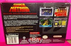 Super Metroid SNES NEW SEALED