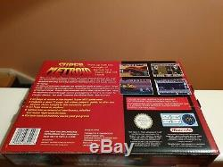 Super Metroid SNES PAL 72 Page Players Guide Big Box WOW