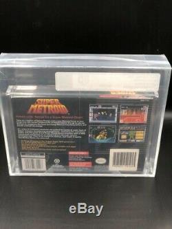 Super Metroid (SNES Super Nintendo) NEW SEALED V-SEAM MINT, VGA 85 WOW VERY RARE